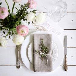 Hochzeitsservietten