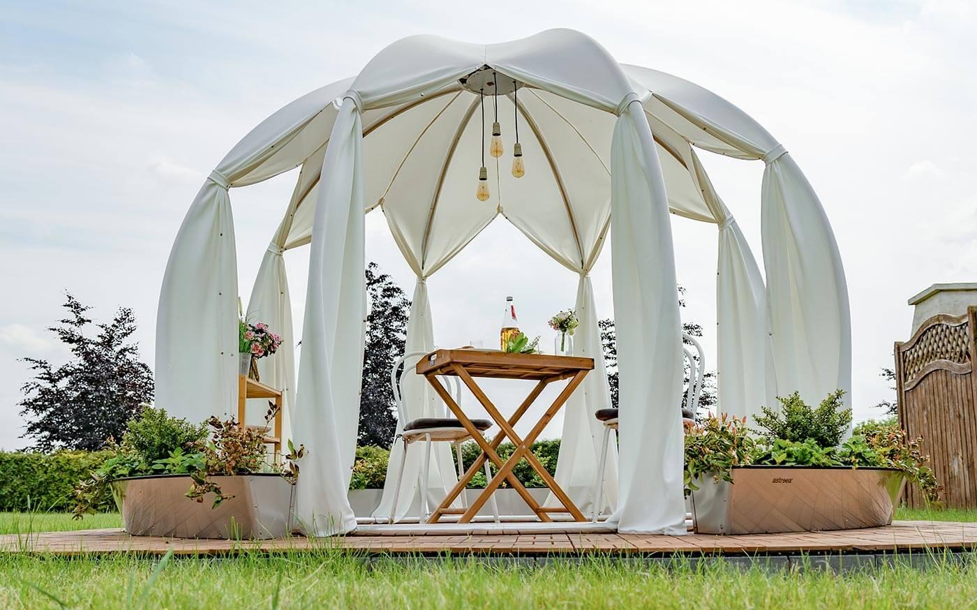 Pavillon Hochzeit