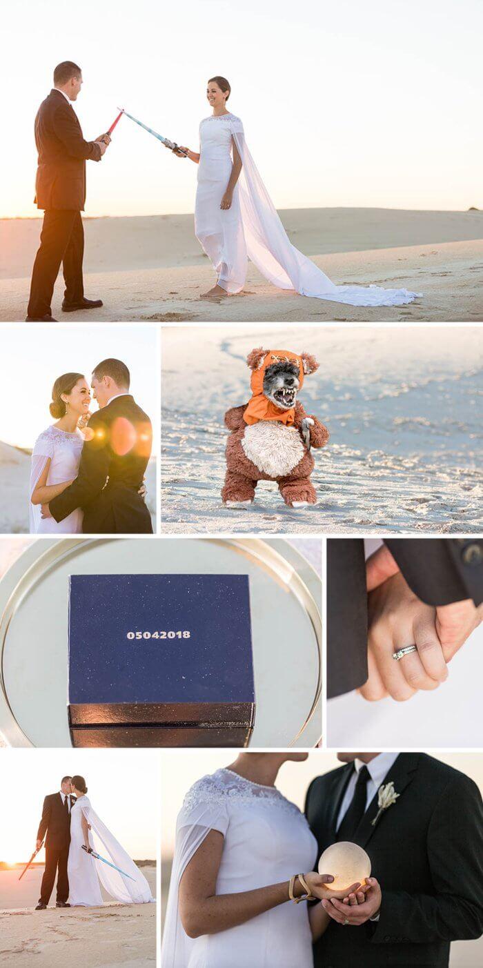 Hochzeit Star Wars