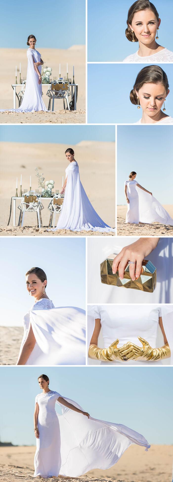 Star Wars Hochzeitskleid