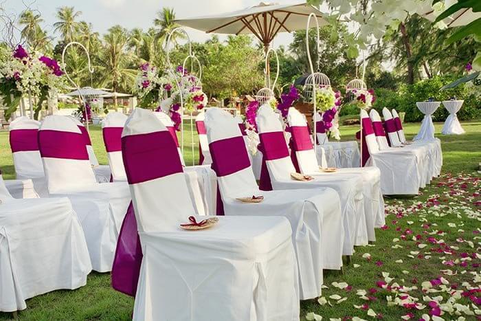 Fächer für Hochzeitsgäste