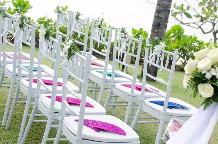 Hochzeitsfächer Trauung