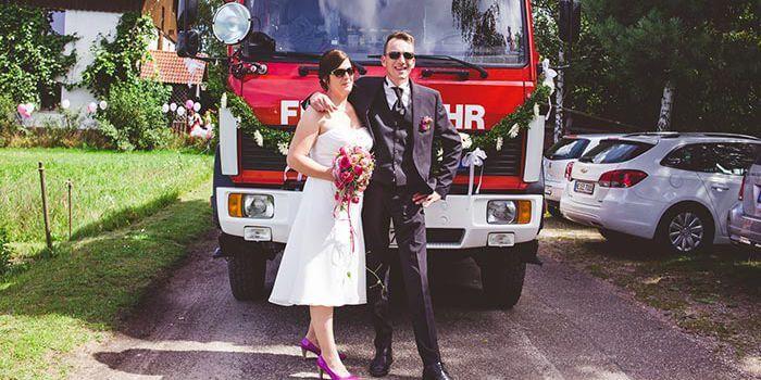 Feuerwehr Hochzeit Liebevolle Diy Hochzeit Ideen Fotostory