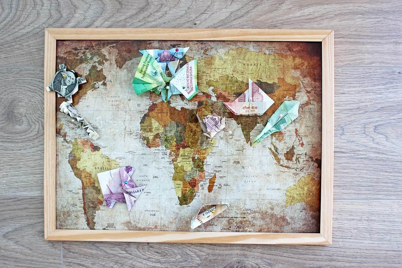 Lustiges Geschenk Für Reise Weltenbummler