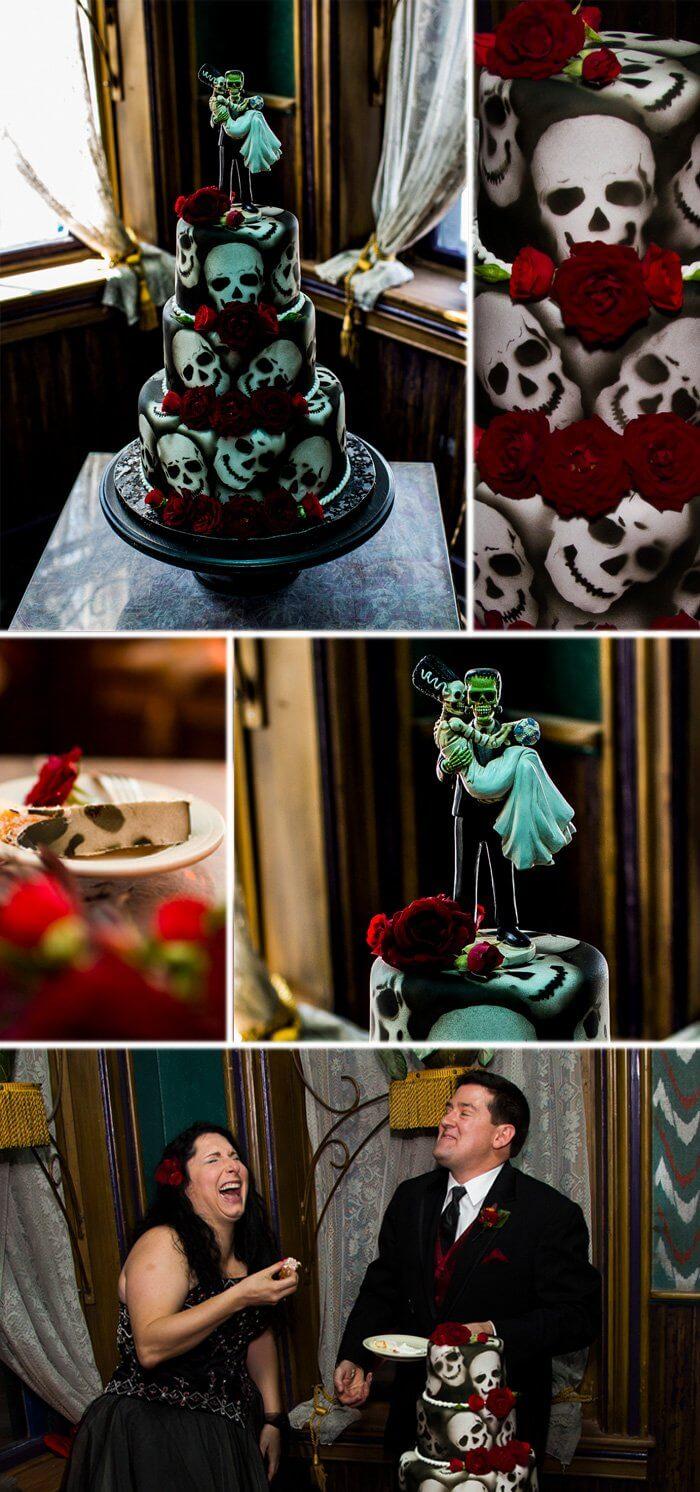 Brautpaar Halloween
