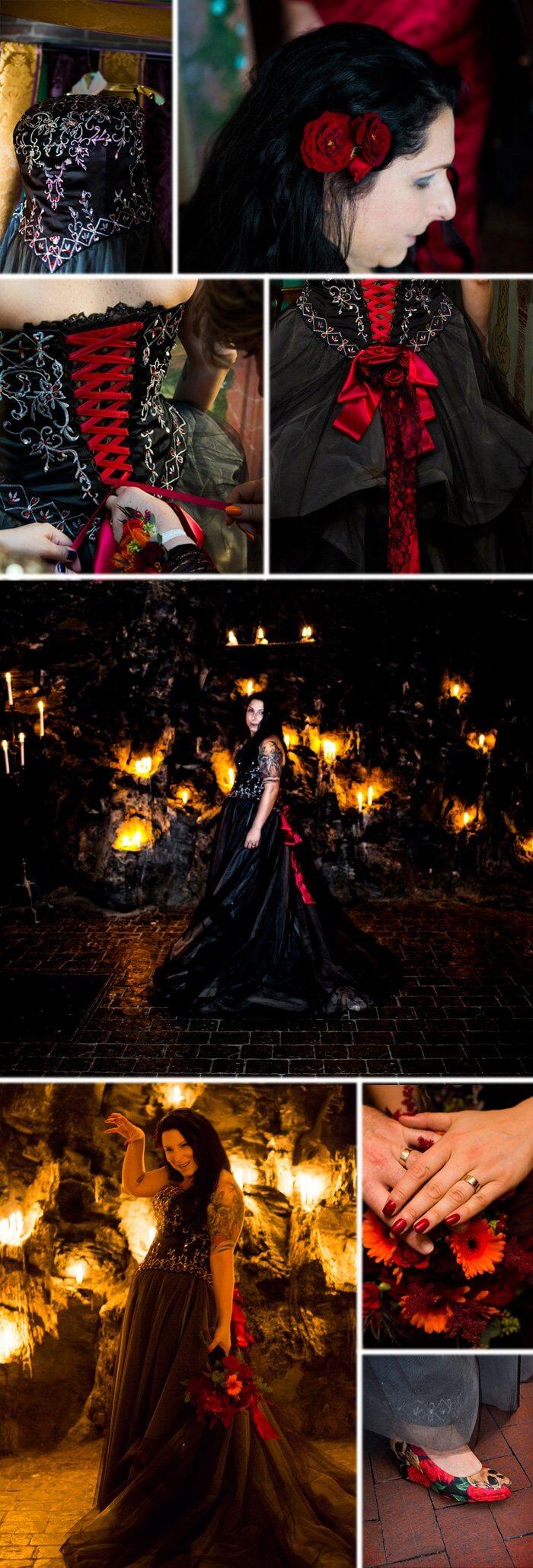 Halloween Brautkleid