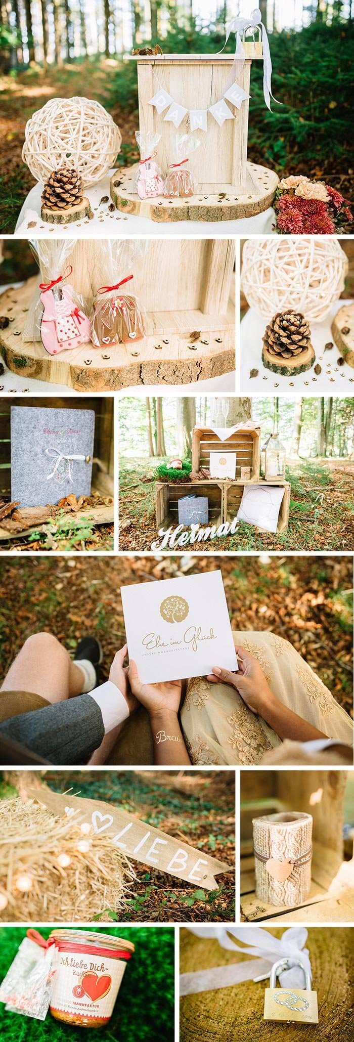 Natur Hochzeit