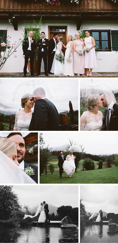 Hochzeit am See Österreich