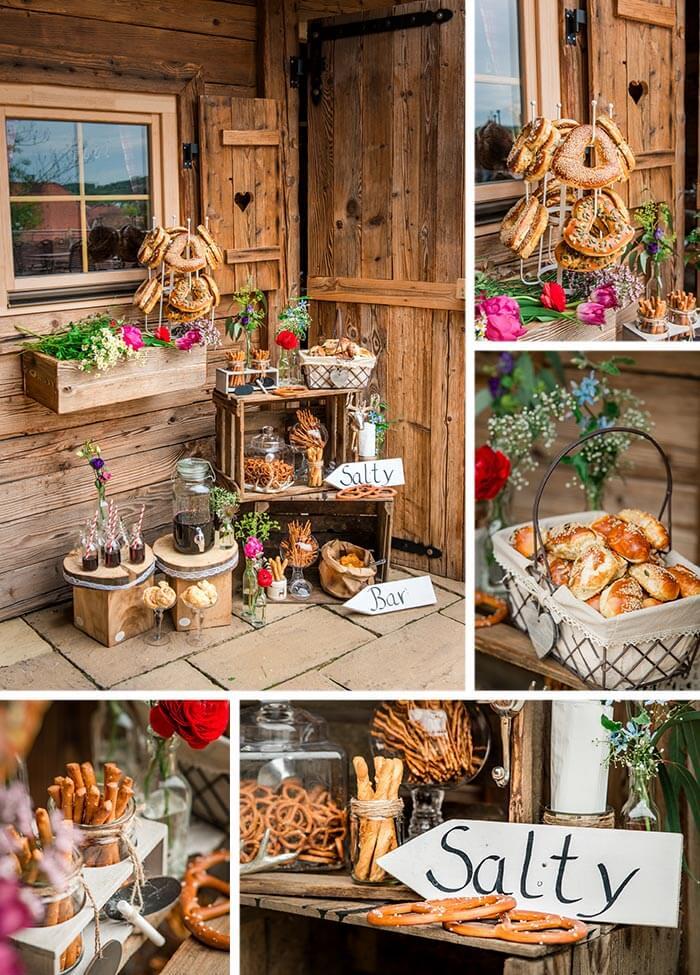 Hochzeit auf der alm i fotostory mit ideen inspirationen mit rustikalem charme - Ausgefallene hochzeitsdeko ideen ...