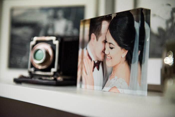 Hochzeitsfotos teilen