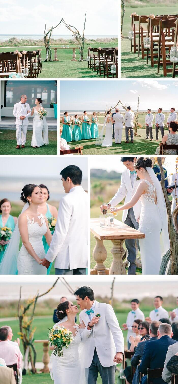 Hochzeit Türkis