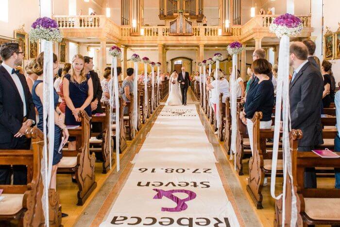Hochzeitsteppich
