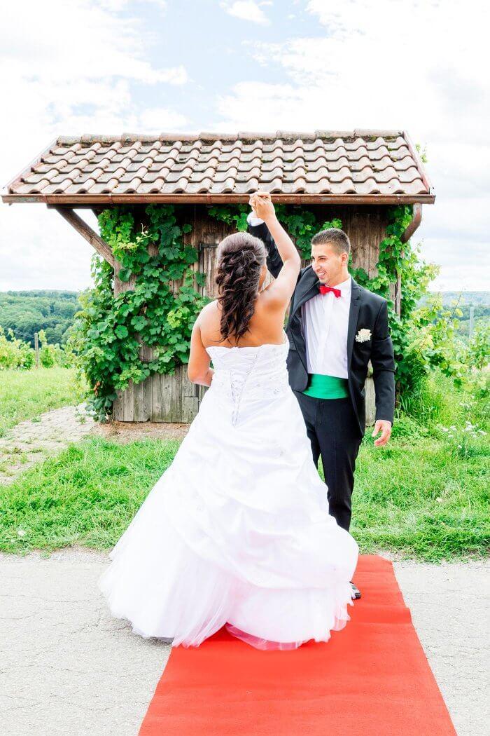 Teppich Hochzeit