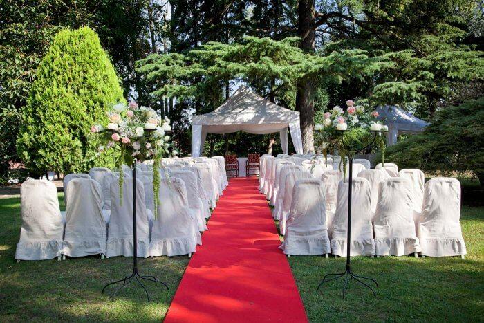 Teppich für Hochzeit