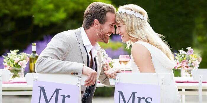 Mr & Mrs Hochzeit