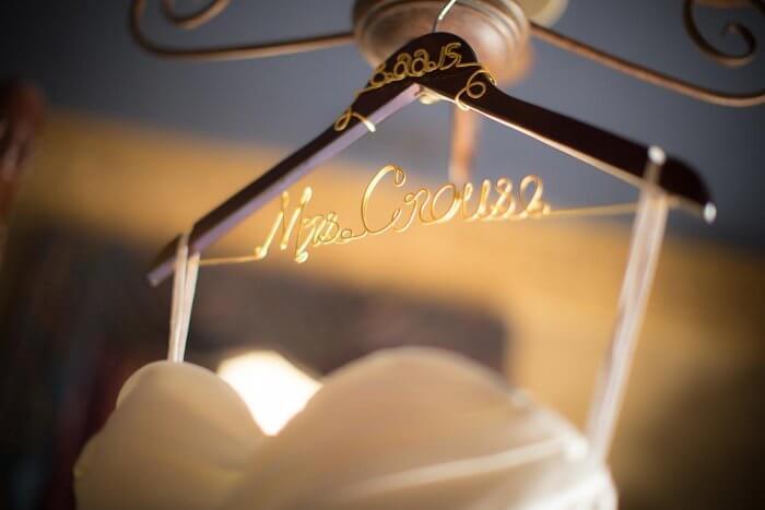 Kleiderbügel Mr & Mrs