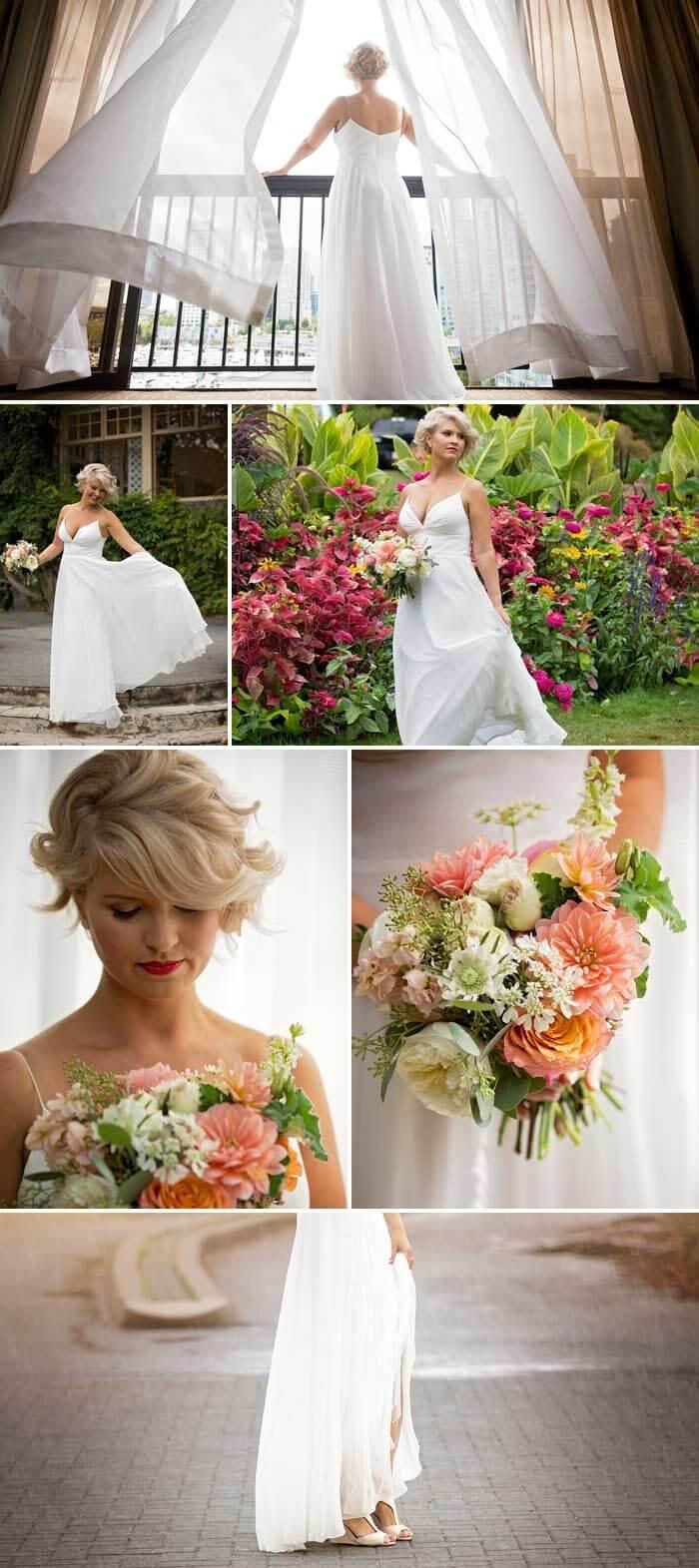 Braut der Regenschirm Hochzeit