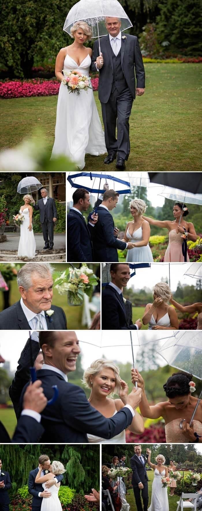 Schirm Hochzeit