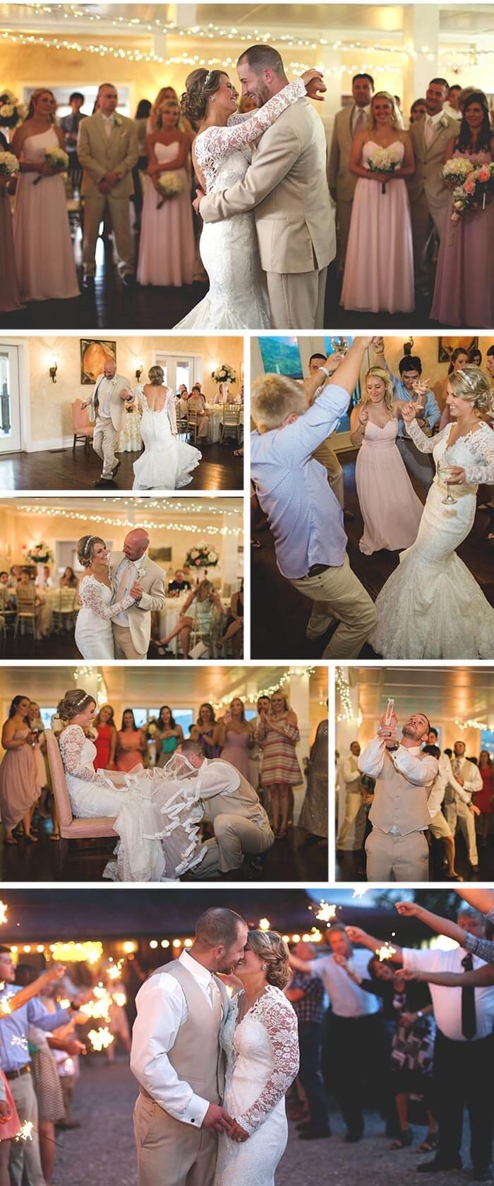 Hochzeitsdeko Rosen