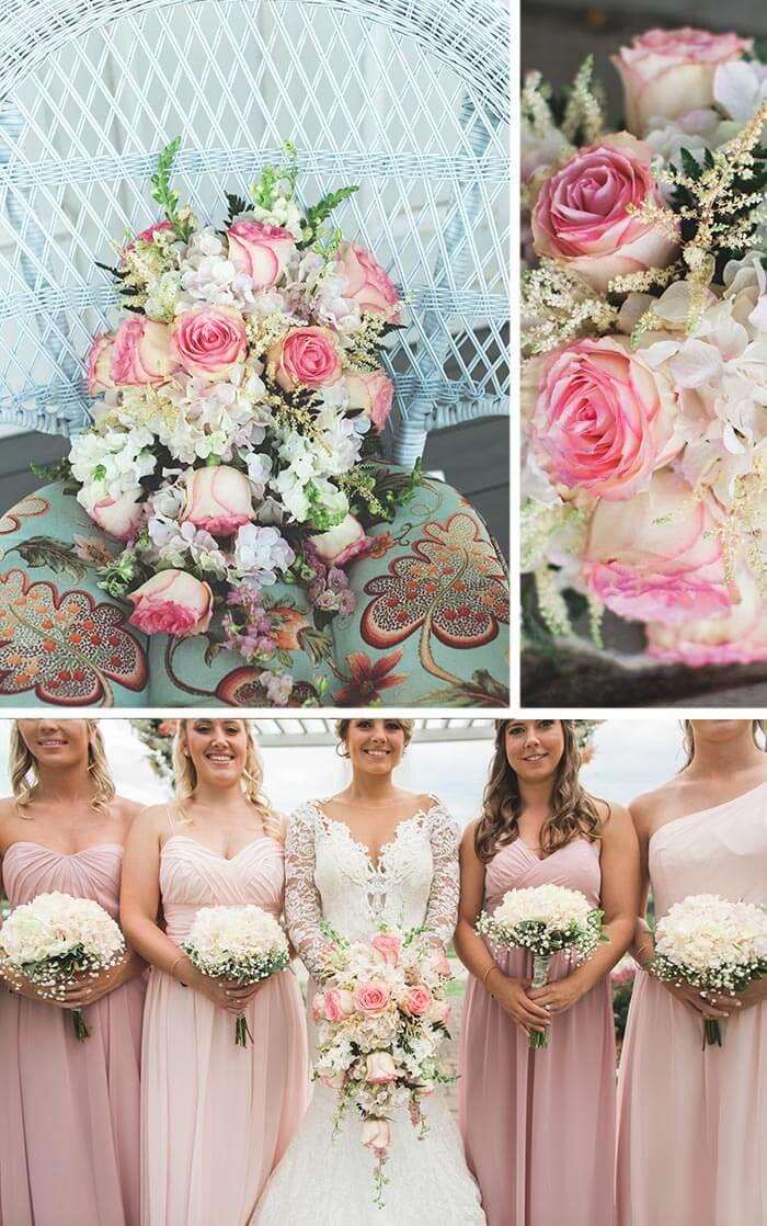 Rosa Rosen Hochzeit Romantisch Heiraten Im Rosa Blumenmeer I Fotostory