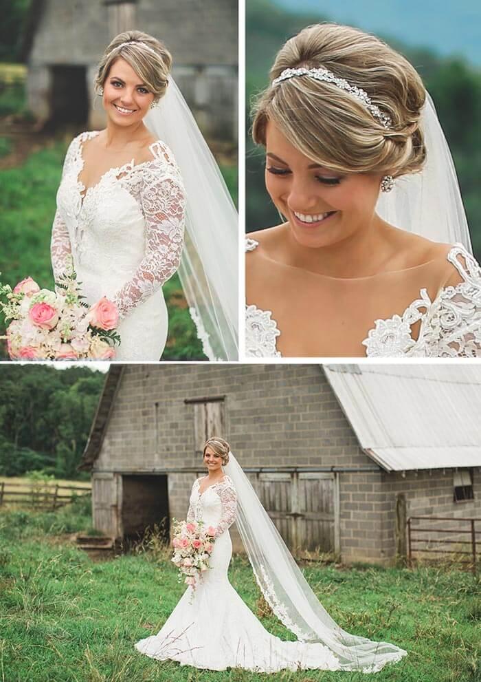 Rosen Hochzeit Braut