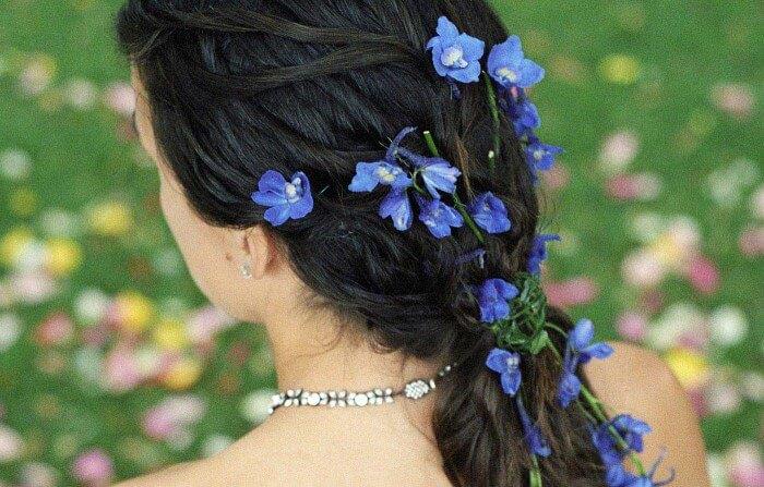 Etwas Blaues Something Blue Hochzeit