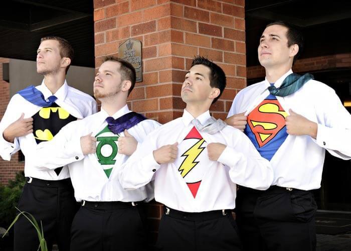Hochzeit Superhelden