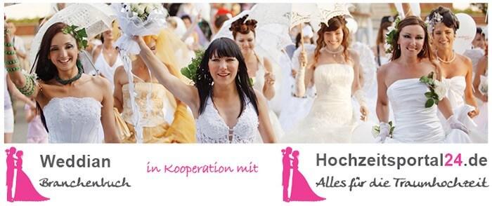 Weddian Hochzeitsportal24 Branchenbuch Kooperation