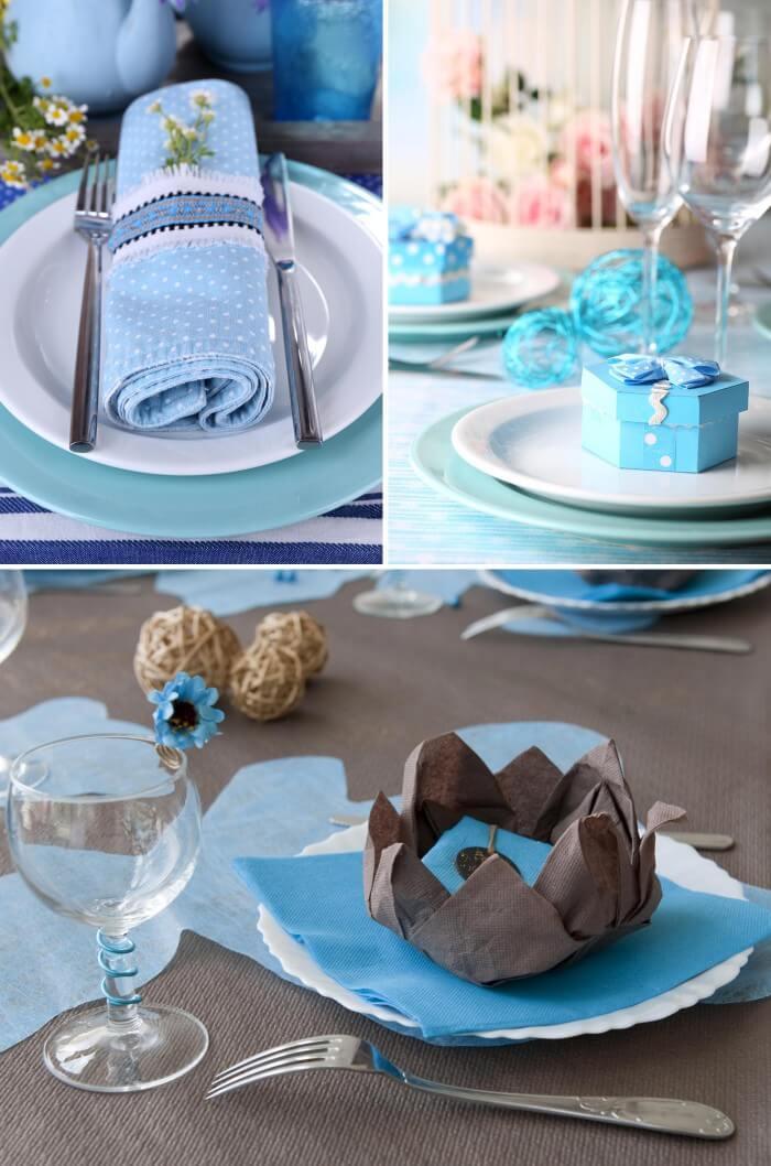 Tischdeko In Turkis Blau Viele Ideen Fur Die Hochzeitsdeko