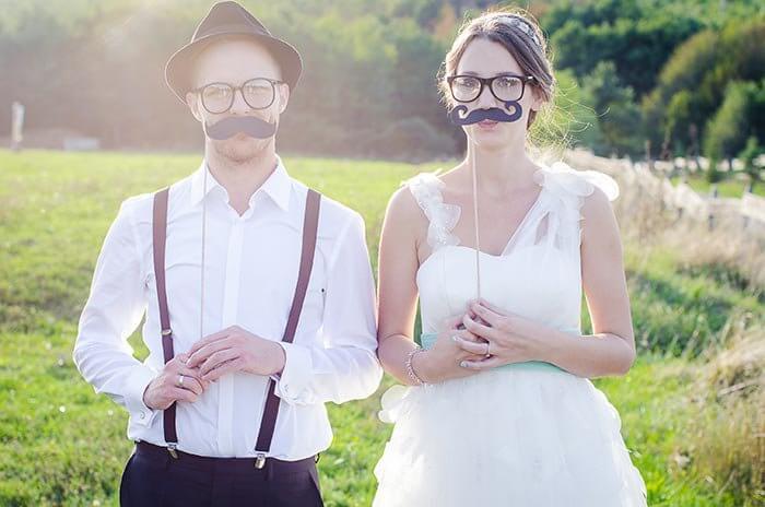 Photobooth Hochzeitsfotos