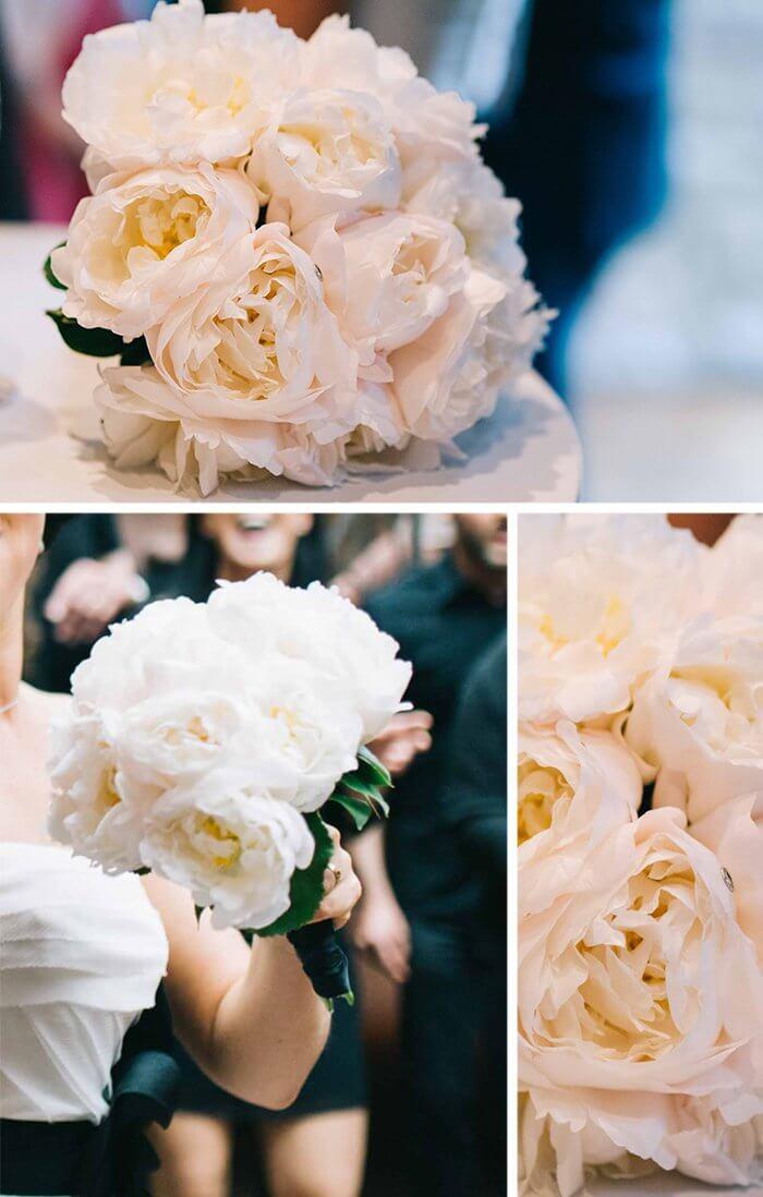 Brautstrauß Schwarz Weiß