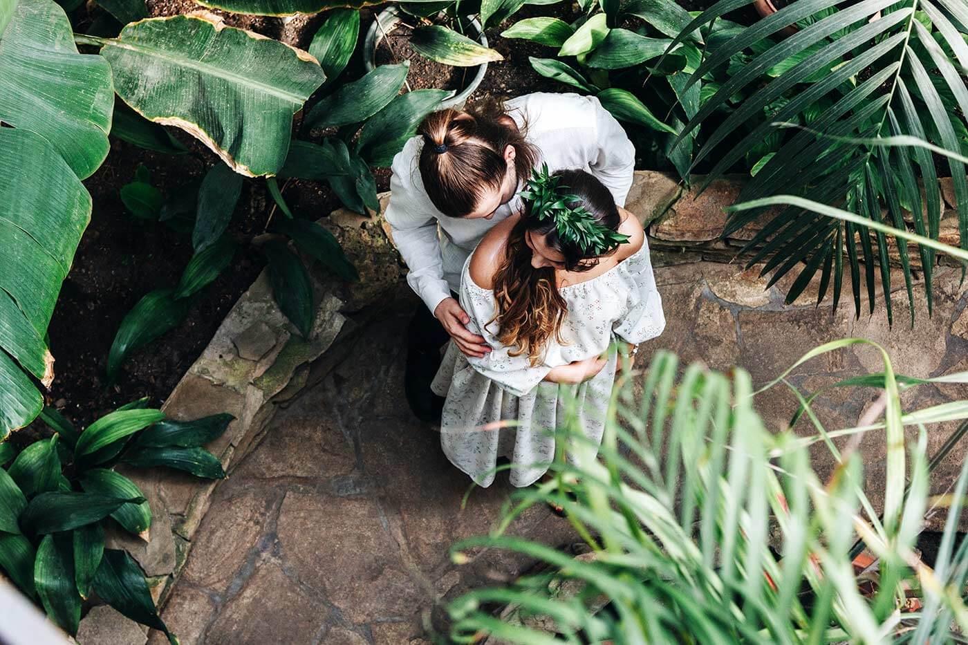 Hochzeit Greenery