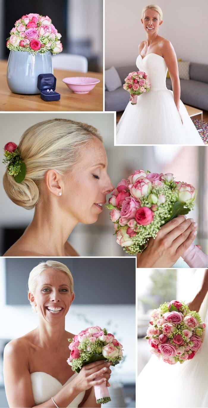 Rosen für Hochzeit