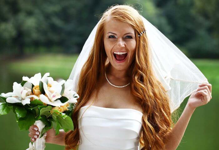 Hochzeit mit Traumfigur