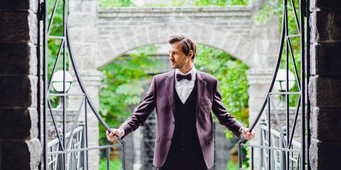 Anzug für den Bräutigam