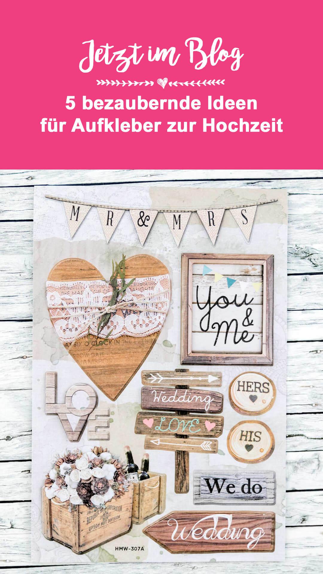 Sticker Hochzeit