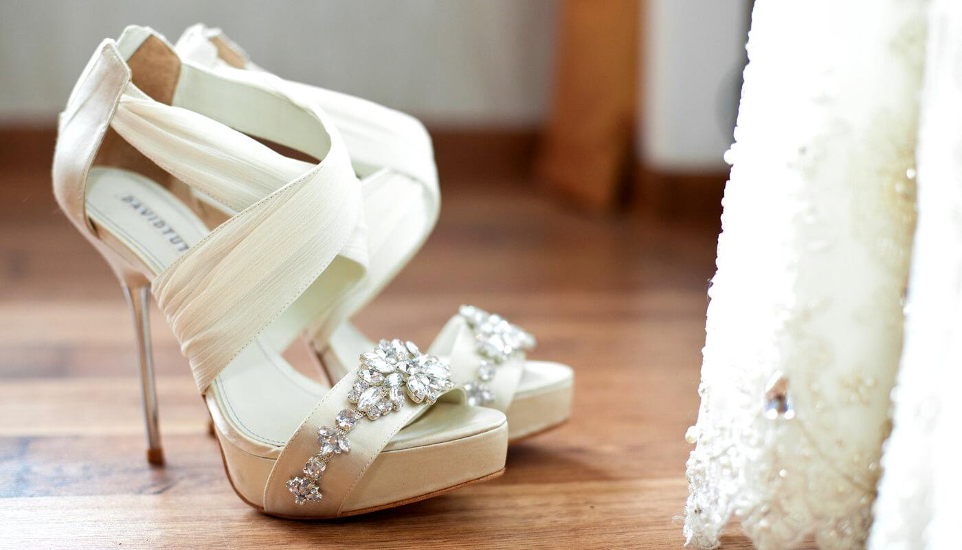 Außergewöhnliche Brautschuhe