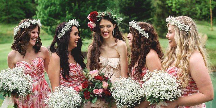 Blumenkranz Der Braut Viele Inspirationen Ideen Bilder