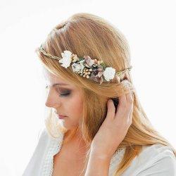 Blumenkranz Hochzeit Boho