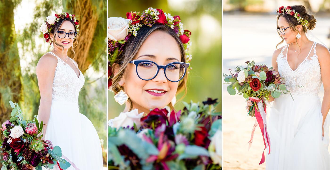 Hochzeit Blumenkranz