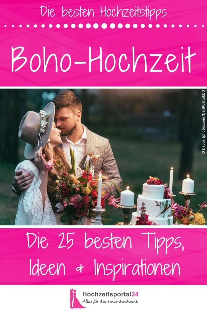 Bohemian Style Hochzeit