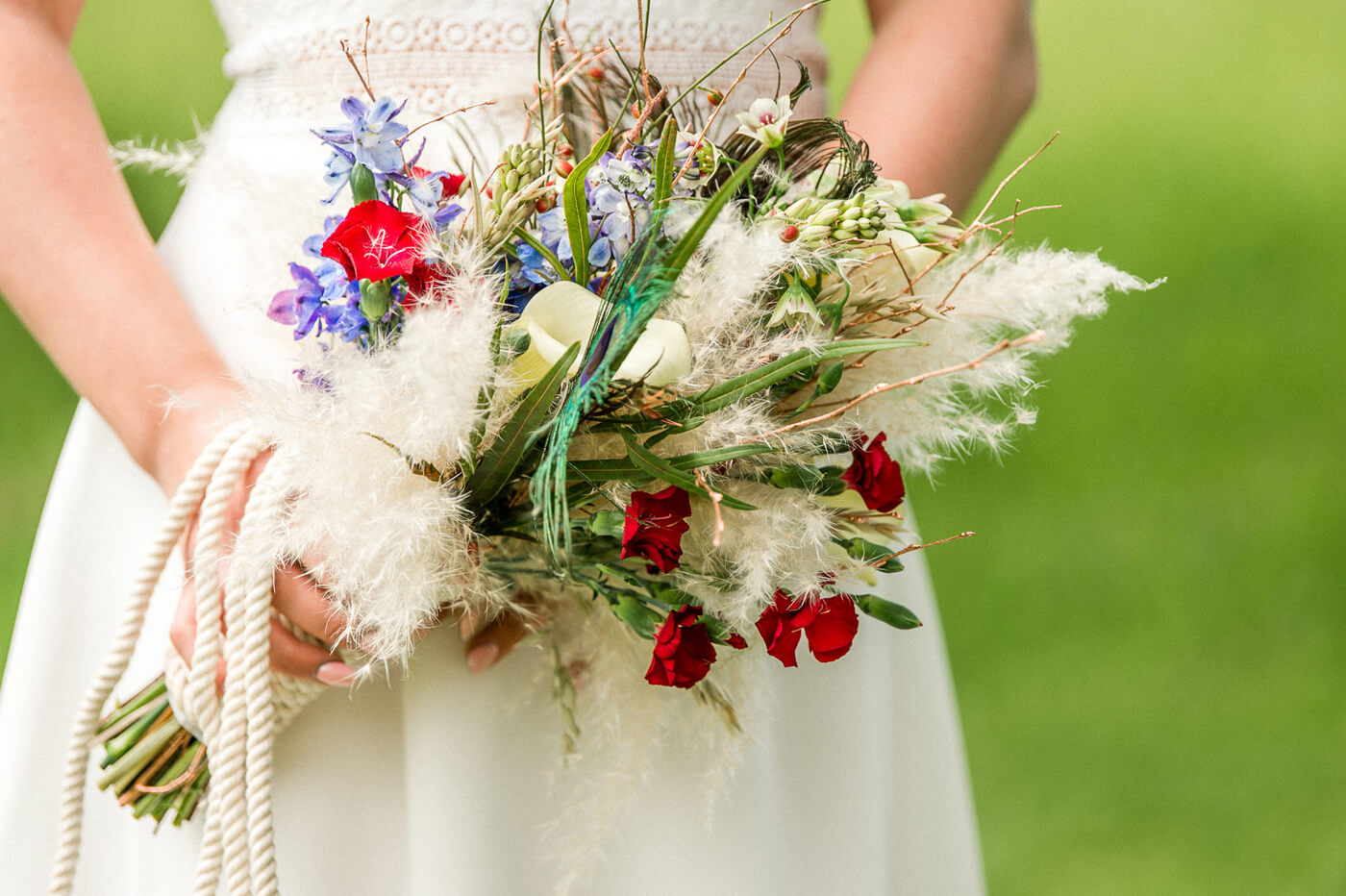 Brautstrauß Boho Style