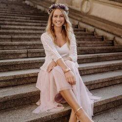 Jacke Hochzeitskleid