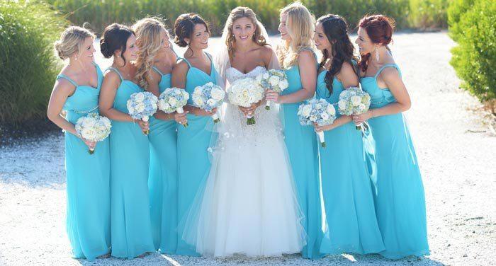 10 fantastische Brautjungfernkleider in Blau I Inspirierende Bilder ...