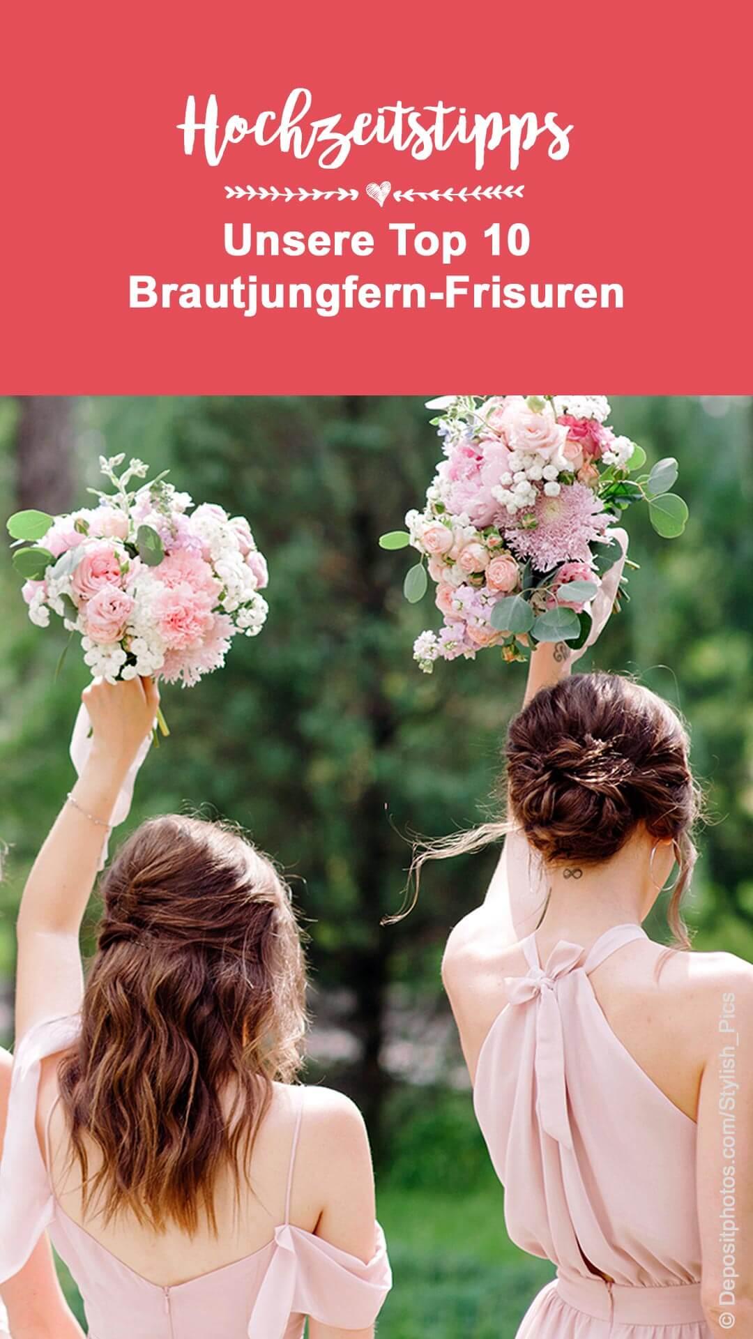 Brautjungfer Frisur - The 10 most beautiful bridesmaids hairstyles