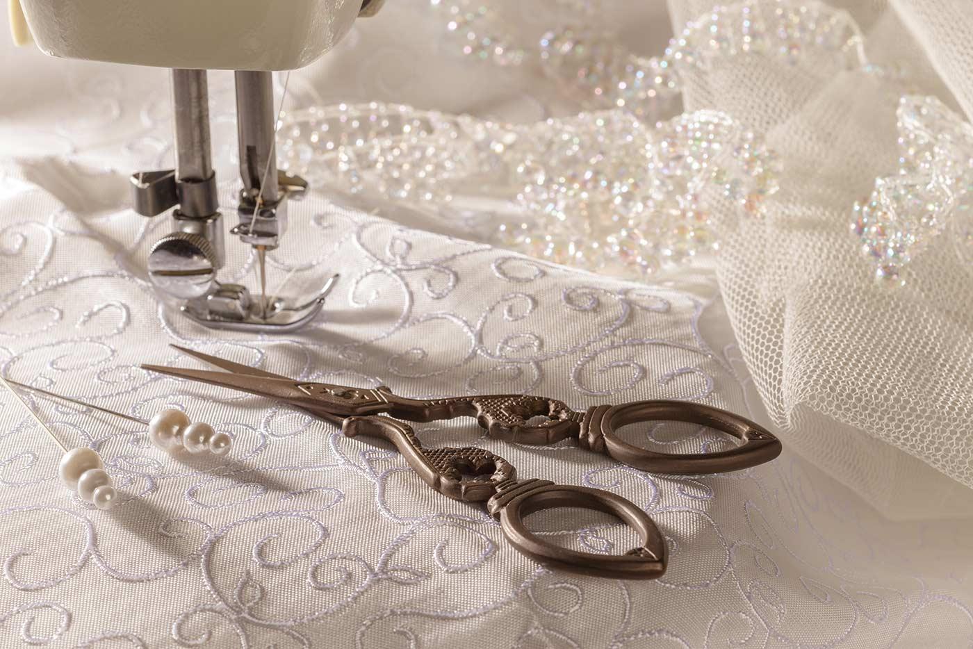 Hochzeitskleid waschen