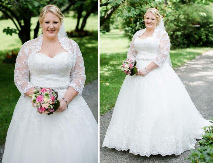 Brautkleid Größe 48
