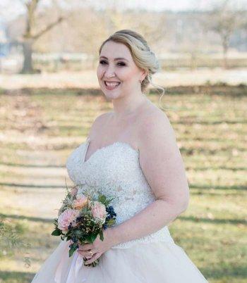 Plus Size Hochzeitskleid