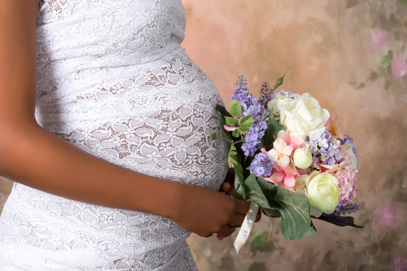 Hochzeitskleider für Schwangere