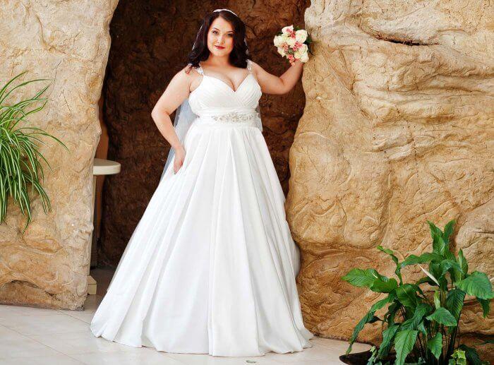 Hochzeitskleider große Größen
